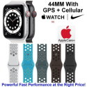 Apple 44mm Watch Nike SE With GPS + Cellular & Nike Sport Band Bundled W/ AppleCare+ Protection Plan