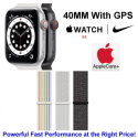 Apple 40mm Watch Nike SE With GPS & Nike Sport Loop Bundled With AppleCare+ Protection Plan