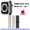 Apple 44mm Watch Nike SE With GPS & Nike Sport Loop Bundled With AppleCare+ Protection Plan