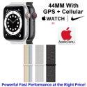 Apple 44mm Watch Nike SE With GPS + Cellular & Nike Sport Loop Bundled W/ AppleCare+ Protection Plan