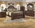 "Old World Beauty 7PC Queen Bedroom Package & Queen 15"" Innerspring Foam Mattress Plus Foundation"