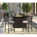 Signature Design By Ashley Perrymount 5-PC Pub Dining Set w/Fire Pit Table