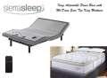 Sierra Sleep Power Bed w/Independent Head & Foot Motors, USB Charging Ports & Mt Dana King Mattress