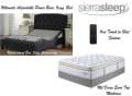 Ultimate Power Bed; Independent Head&Foot Motion w/Massage, USB Charge, Remote&King Mt Dana Mattress