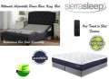 "Ultimate Power Bed; Independent Head&Foot Motion w/Massage, USB Charge, Remote &King 13"" Gel Mattres"