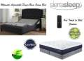 "Ultimate Power Bed; Independent Head&Foot Motion w/Massage, USB Charge, Remote &Qn 13"" Gel Mattress"