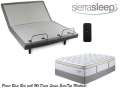 Get Comfy w/the Sierra Sleep Power Bed; Adjustable Headers, Wireless Remote & Queen Mt Dana Mattress