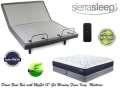 Get Comfy w/the Sierra Sleep Power Bed; Adjustable Headers, Wireless Remote & MyGel 13
