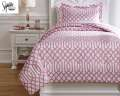 Loomis-Pink Collection 2-Piece Twin Bedding Set