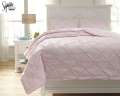 Medera-Rose Collection 3-Piece Full Bedding Set