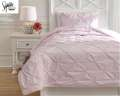 Medera-Rose Collection 2-Piece Twin Bedding Set