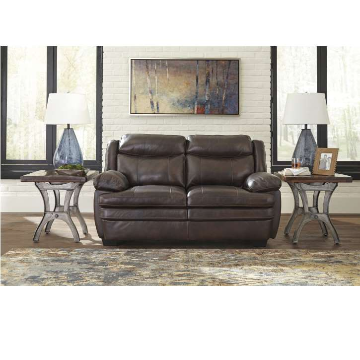 Incredible Genuine Top Grain Leather Match Sofa And Loveseat Package In Andrewgaddart Wooden Chair Designs For Living Room Andrewgaddartcom
