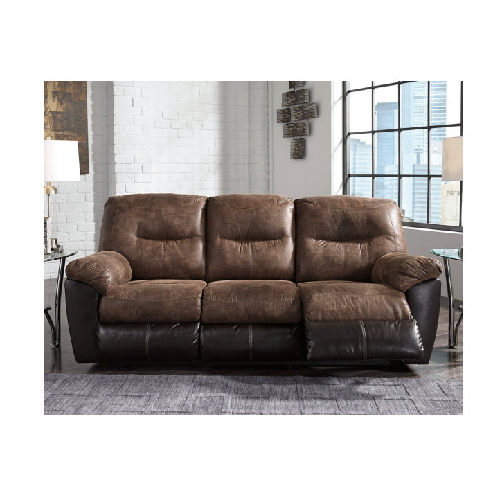 Peachy Two Toned 4Pc Overstuffed Reclining Sofa Loveseat Set With Inzonedesignstudio Interior Chair Design Inzonedesignstudiocom