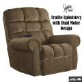 Ernestine Power Lift Recliner in Truffle - Express Shipping