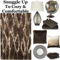 Luscious Comfort Will Dress Up Your Room With This Dynamic 9PC Contemporary Accessory Bundle Package