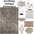 Adorn Your Living Space W/Subtle Aged Trends W/This Elegant 8PC Traditional Accessory Bundle Package