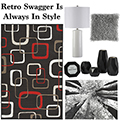 Retro Swagger Is Always In Style With This Modern 13PC Contemporary Accessory Bundle Package