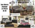 New Movers Package Featuring Living Room, Bedroom & Youth Bedroom; 23-Pieces In All