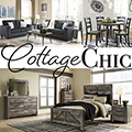 17PC Extreme Makeover/Mover�s Package; Featuring 5PC Living Room, 7PC Bedroom & 5PC Dining Package