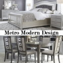 The Ultimate Bundle Package; Featuring Metro Modern 6-PC Bedroom Set paired w/ a 7-PC Dining Package