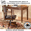 Take Up Only a Small Amount of Space for Your New Work at Home Environment With This Minimalist Desk