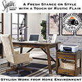 Add a Fresh Stance on Style to Your New Work from Home Environment With This Sleek Desk Package