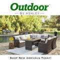 Easy Isle Dark Brown And Beige Outdoor RAF Sectional  and Table with 2 Chairs