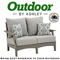Bring Cozy Ambience to Your Outdoors with This Comfortable Cushioned Loveseat