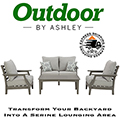 Comfortable Dawn Gray Wood Look 3-Piece Outdoor Set Featuring High-Performance Cushions