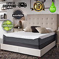 "Chime Elite 10"" Memory Foam Twin Mattress + Riser Foundation"