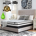"Chime 10"" Hybrid Innerspring Full Mattress + Riser Foundation"