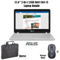 "Asus 2-In-1 15.6"" 12GB Intel Core i5 Laptop Bundle, Inlcudes Mouse And Carrying Sleeve"