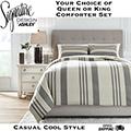 Schukei Adult Collection 3-Piece Queen or King Comforter Bedding Set