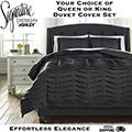 Voltos Adult Collection 3-Piece Queen or King Duvet Cover Bedding Set