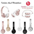 Double Up W/Two Pairs Of Beats By Dr. Dre Solo3 On-Ear Wireless Headphones-Choice of 6 Colors