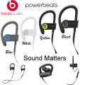 Power Up Your WorkOut With Beats By. Dr. Dre Powerbeats Wireless Earphones In 4 Colors