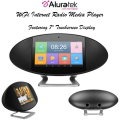 "Aluratek Wi-Fi Internet Radio Media Player Featuring 7"" Touchscreen Display"