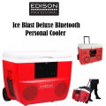 Edison Professional Ice Blast Deluxe Bluetooth Personal Cooler