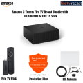 Fire Recast 2-Tuners Bundle w/Ultra-Thin Indoor TV Antenna, Fire TV Stick and 2-Year Protection Plan