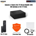 Fire Recast 4-Tuners Bundle w/Ultra-Thin Indoor TV Antenna, Fire TV Stick and 2-Year Protection Plan