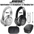 Enjoy Continuous Music With Bose QuietComfort 35 Wireless Headphones & SoundSport Charging Station
