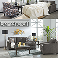 Affordable 7-Piece Pkg Featuring Reversible Sofa Chaise in Slate Upholstery, Matching Tables & More