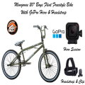 "Mongoose 20"" Boys Freestyle Bike w/GoPro Hero Camera & Head Strap - Assembly Required on Bike"