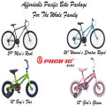 Affordable Bike Pkg for The Family, Includes Men's, Women's Boy's & Girl's Bikes - ASSEMBLY REQUIRED
