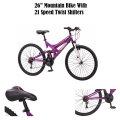 Mongoose 26� Spectra Women�s Mountain Bike - Available in Black//Purple