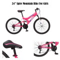 Mongoose 24� Girls Spire Mountain Bike � Available in Blue/Black