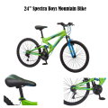 Mongoose 24� Boys Spectra Mountain Bike � Available in Blue/Green