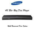Samsung 4K Blu-ray Disc Player-Available In Black