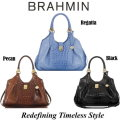 Brahmin Elisa Melbourne Hobo Bag - Available In Your Choice Of Three Colors