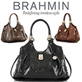 Brahmin Elisa Melbourne Hobo Bag-Available In Your Choice Of 3 Colors